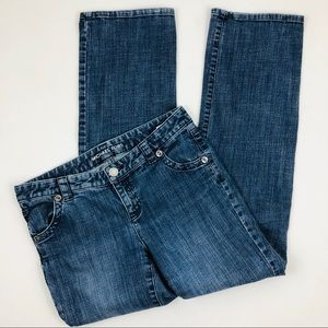 Michael Kors Stretch Jeans Straight Distressed 8